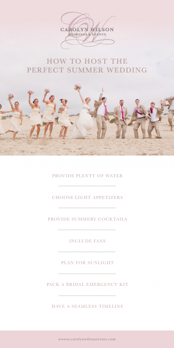 Wedding Coordinator California | Host the perfect summer wedding
